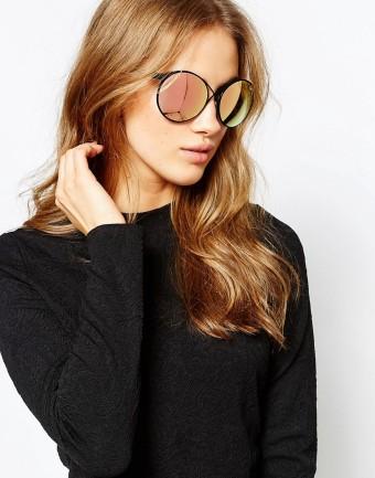 quay round cross glasses