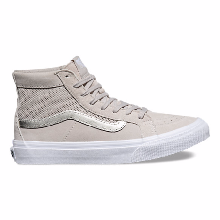 vans skate high silver clouds